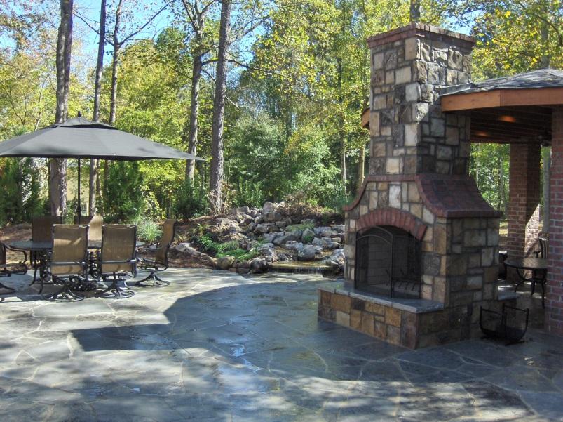 Design Ideas for Outdoor Masonry Fireplaces - Capo Artisan ...